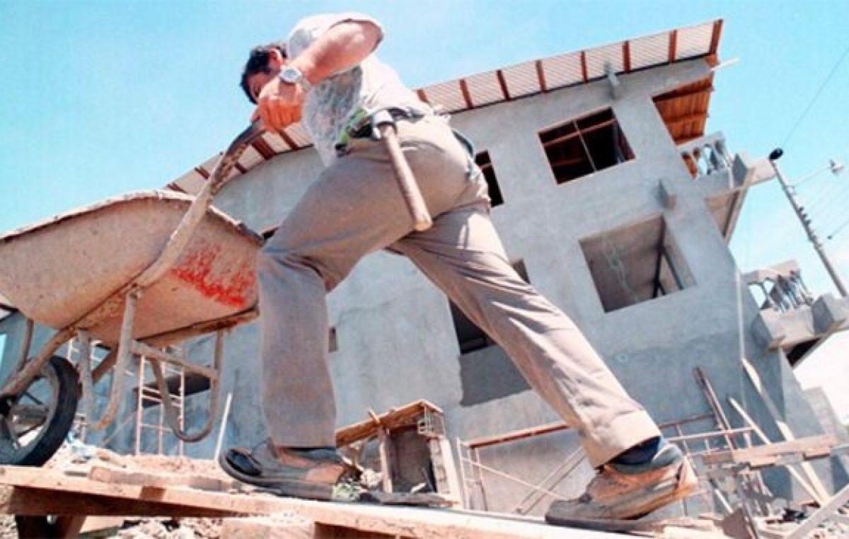 Construcción en Gualeguaychú: Afirman que el 70% de mano de obra está desocupada