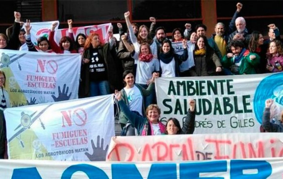 Histórico fallo judicial en Concepción del Uruguay: Condenaron a los que fumigaron cerca de una escuela