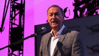 Schiaretti: Córdoba perdió $ 19 mil millones por la soja