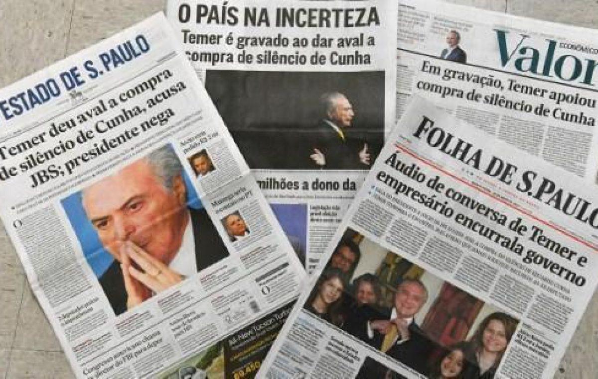 El 78% de los brasileños convencidos que aumento la corrupción