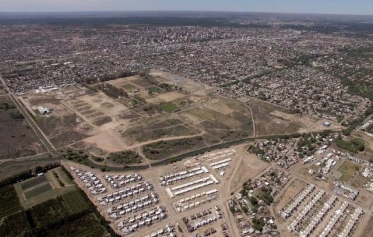 Neuquén: En 15 años se urbanizó la mitad de las 127 hectáreas