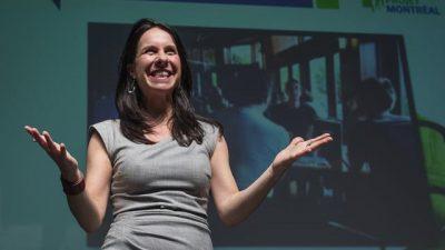 Montreal eligió por primera vez alcalde a una mujer