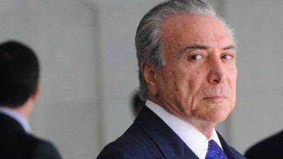 Brasil: Temer pierde a su principal socio de gobierno
