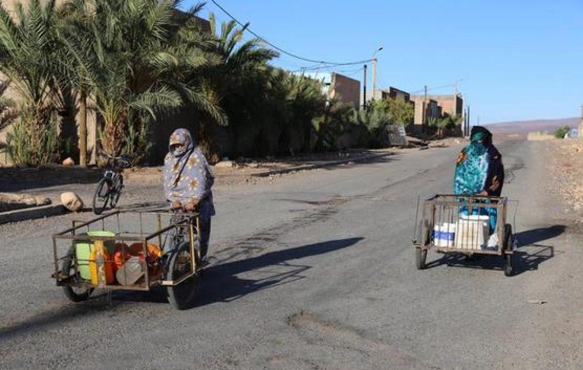 Falta de agua provoca desesperación y protestas en Marruecos
