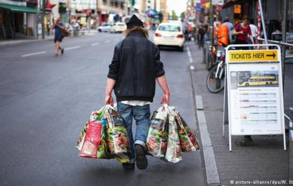 Un 20 por ciento de los alemanes, al borde de la pobreza