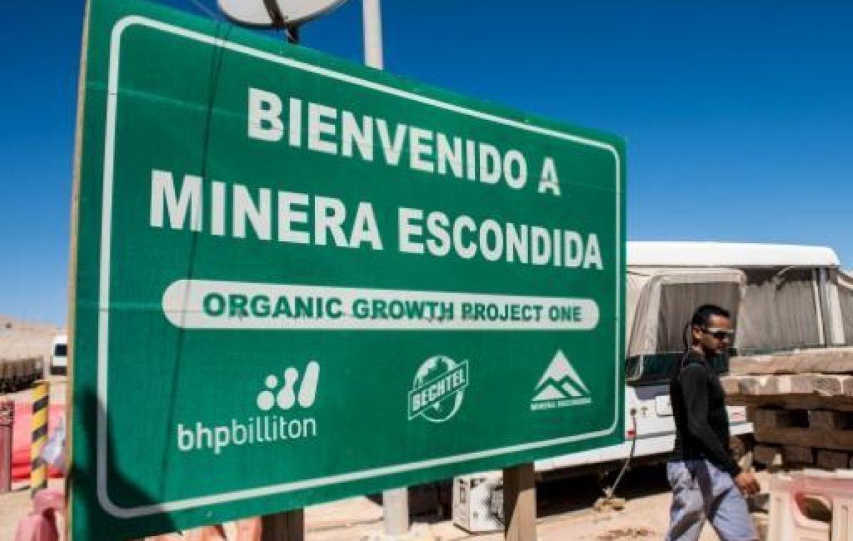 Minera Escondida despide al 3% de sus trabajadores en Chile
