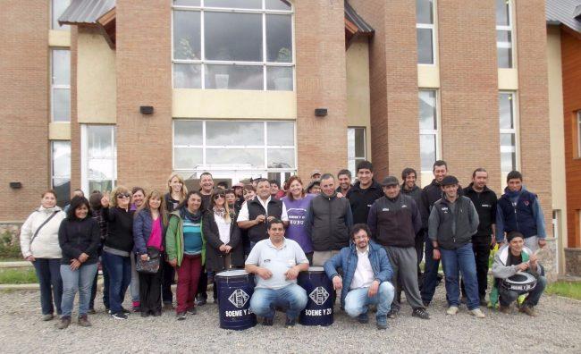 Trevelin: trabajadores municipales reclaman reconocimiento del SOEME