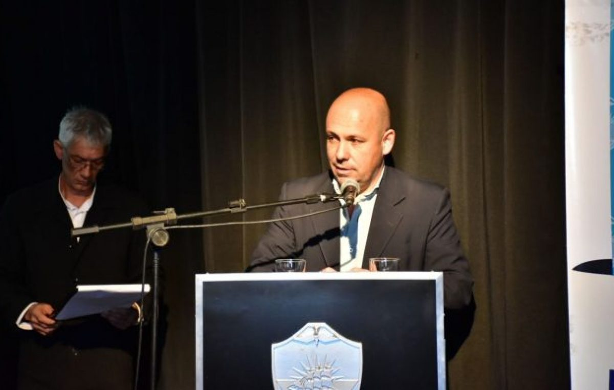 Sastre encabezó firma de convenio que fortalecerá a Madryn como Ciudad Inteligente