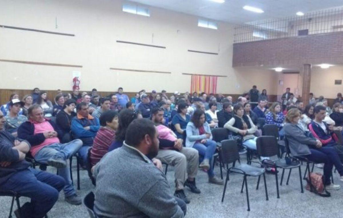 Coronel Suárez: los municipales, firmes en el reclamo del 30%