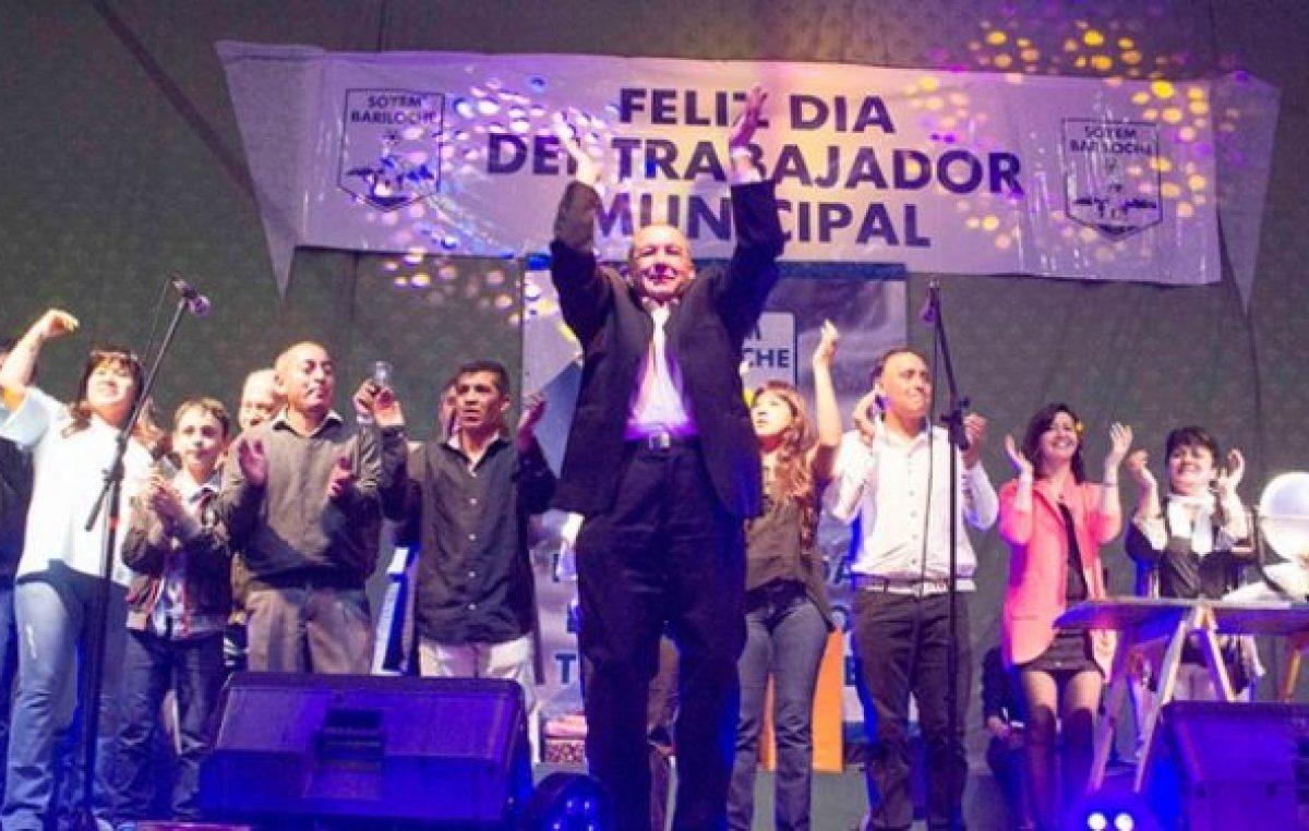 Los municipales de Bariloche celebraron su día con fiesta, baile y una firme postura sindical