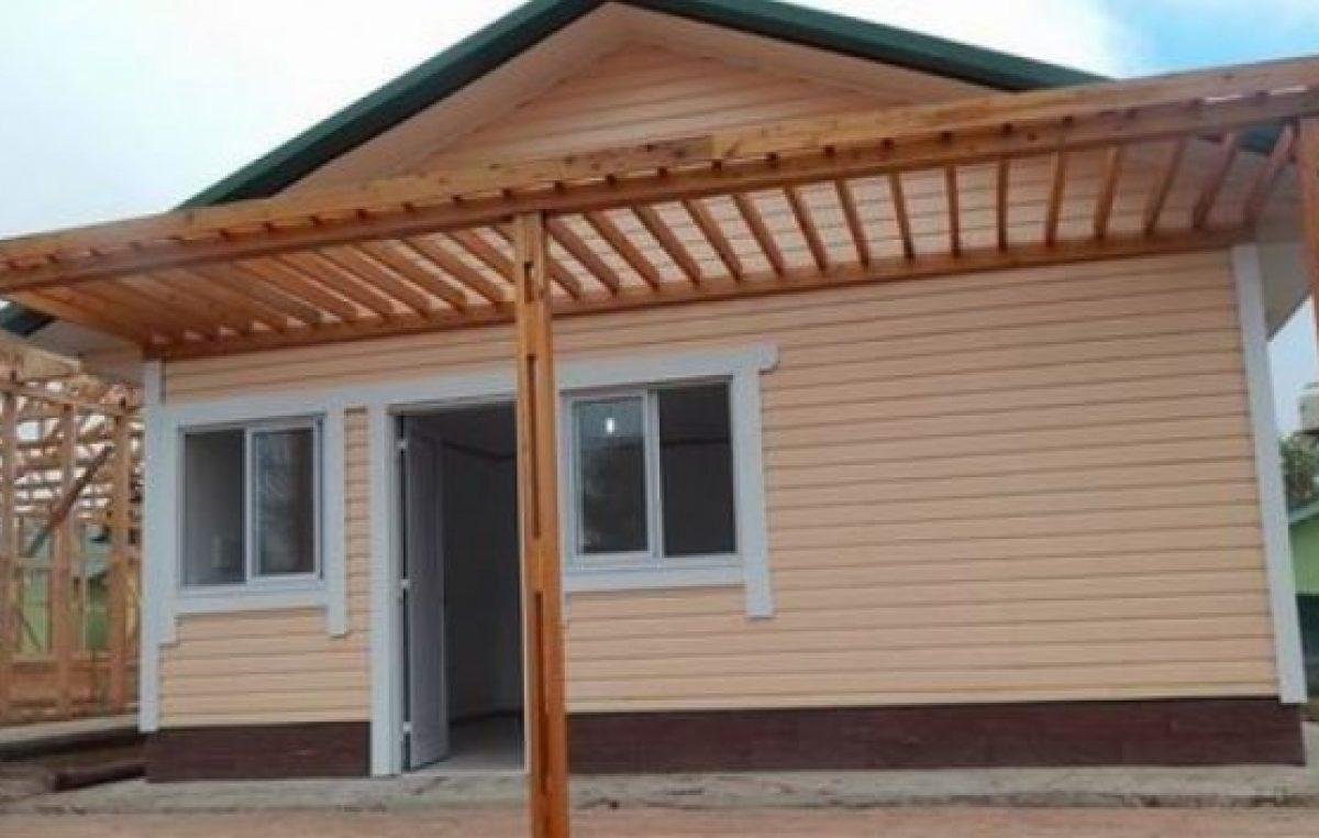 En Concordia, construirán un barrio de viviendas de madera, de calidad