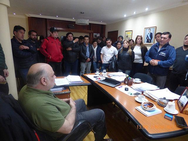 """SOEM Río Gallegos declaró el """"estado de alerta y asamblea permanente"""""""