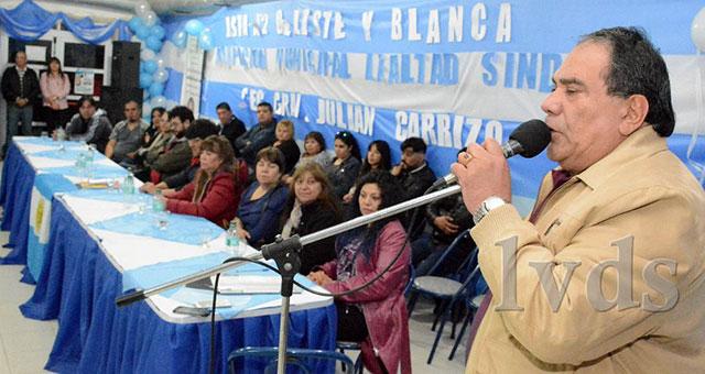 Caleta Olivia:Julián Carrizo presentó su lista para la reelección del SOEMCO