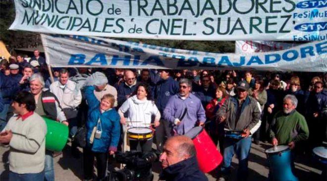 Coronel Suárez: los municipales realizarán un paro por 48 horas