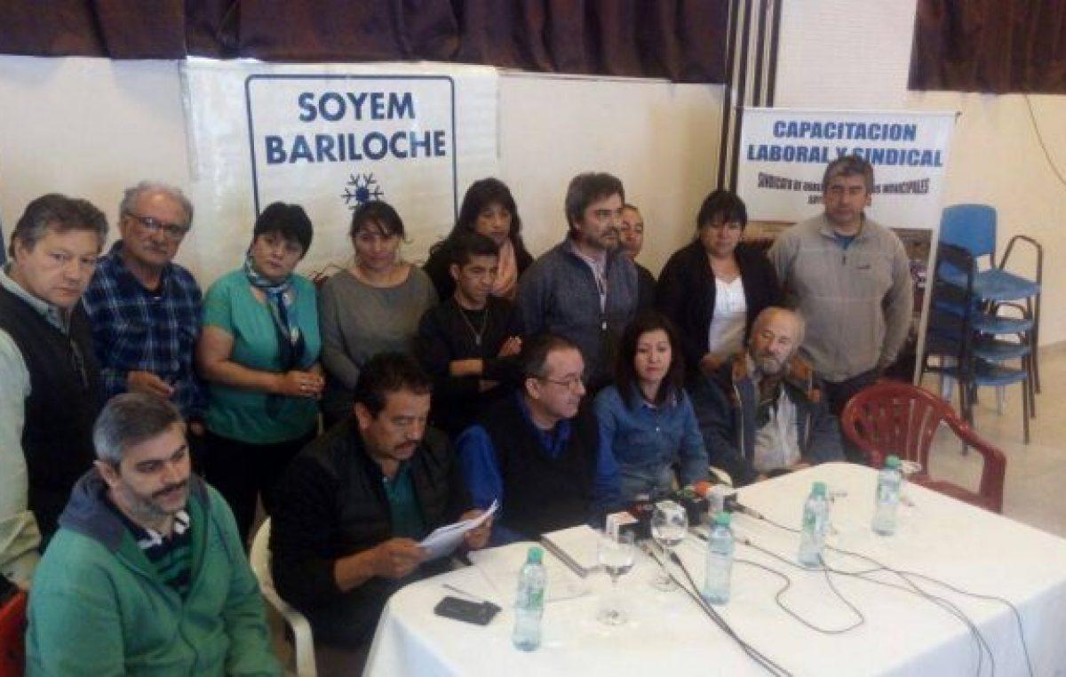 El Soyem Bariloche amenaza con ir a la Justicia si no se pasan los 2 mil pesos al básico