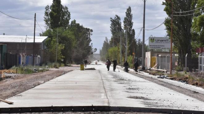 Ejecutan obras por 218 millones en Cipolletti