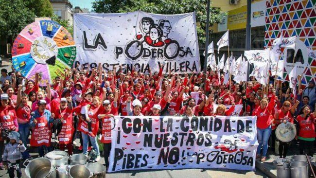 Reclamo por comida para los merenderos de Buenos Aires