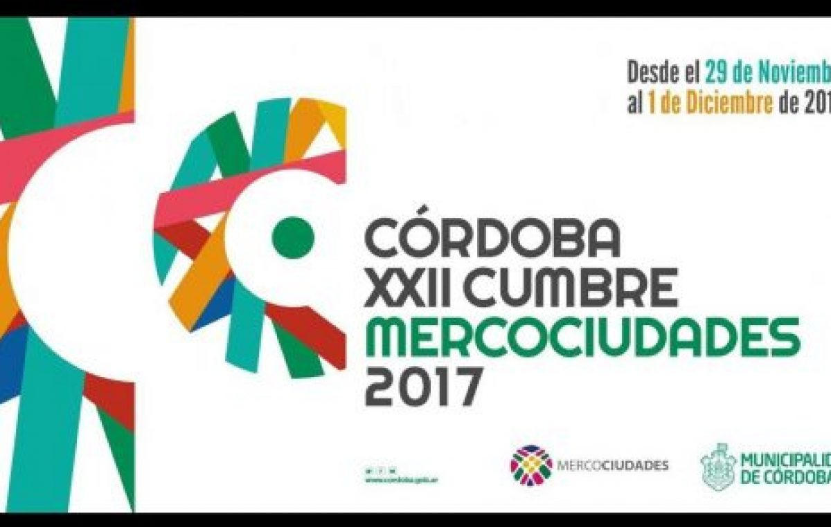 Mercociudades, tres eventos en uno en Córdoba