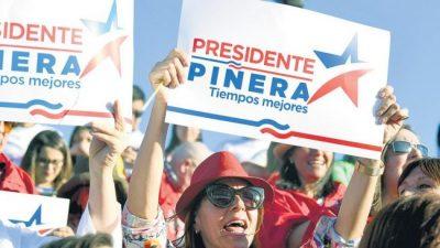 Cerró la campaña en Chile con la mira en los indecisos