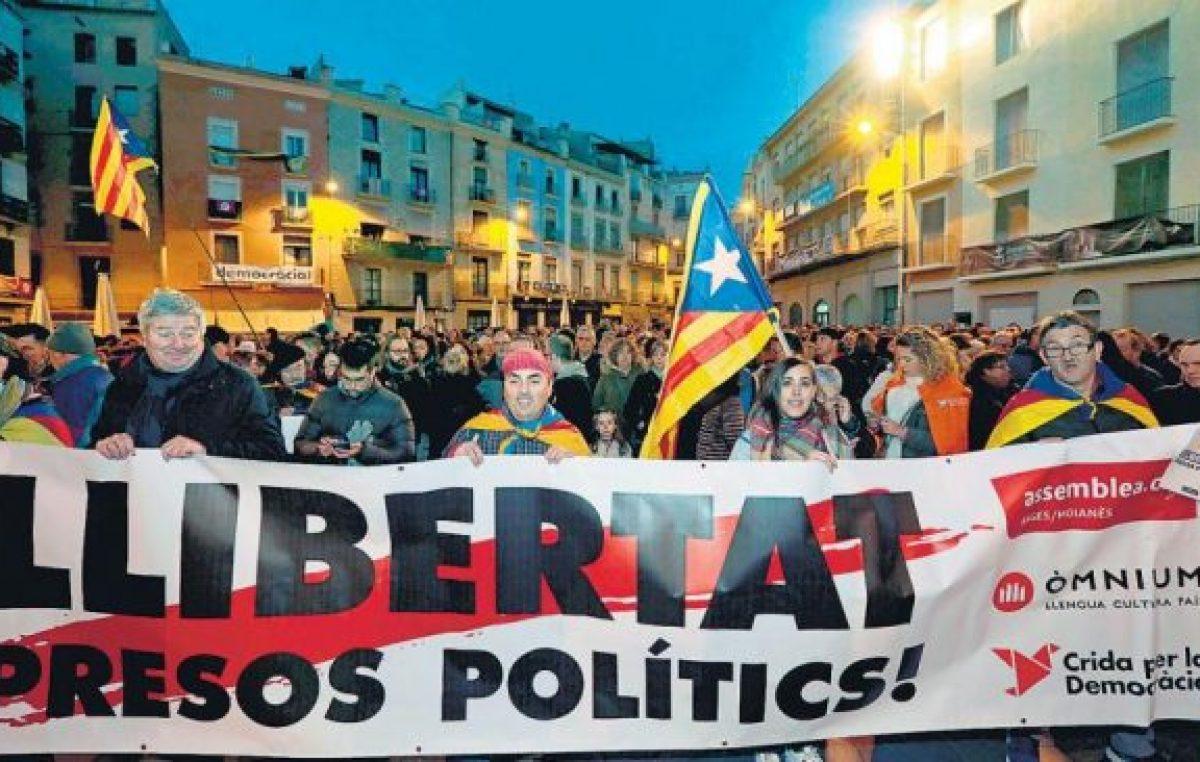 Huelga general y protestas en Cataluña