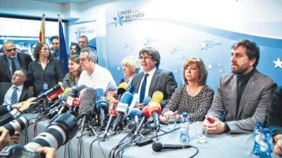 Desde Bélgica, Puigdemont aceptó ir a las urnas