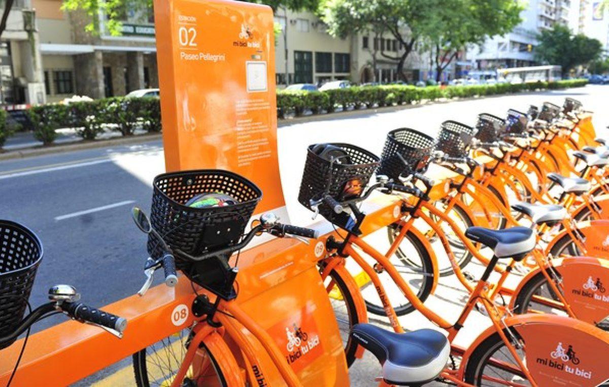 Mi bici tu bici: ya se realizaron 500.000 viajes en Rosario