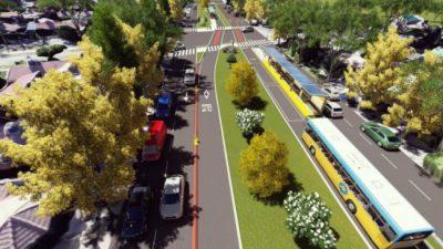 El intendente de Neuquén anunció que en marzo estará terminada la primera etapa del Metrobús