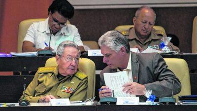 Cuba se prepara para el relevo de Raúl Castro
