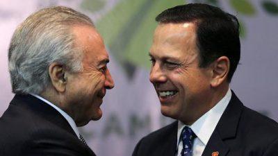 Se desploma índice de popularidad de alcalde de Sao Paulo