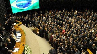 Congreso brasileño tiene 60% de rechazo, récord histórico