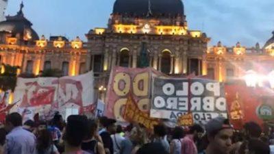 Realizaron un ruidazo en Tucumán contra las reformas de Cambiemos