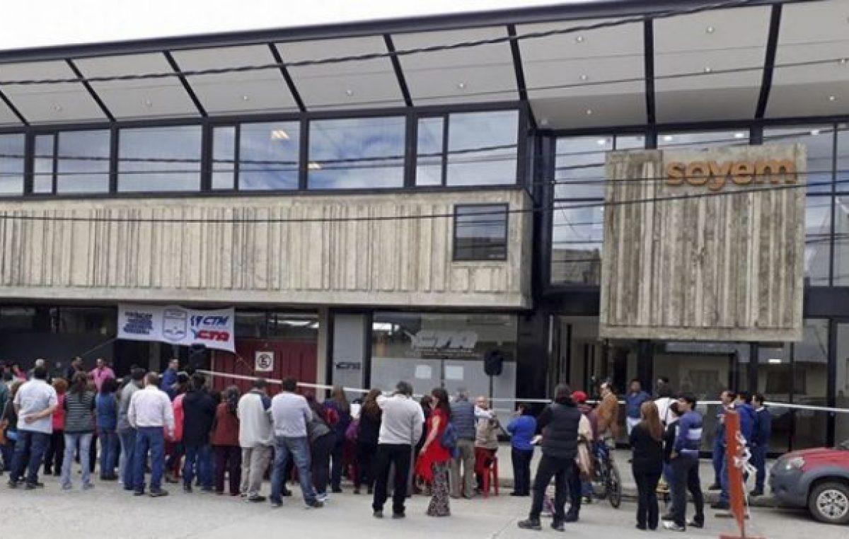 El sindicato de empleados municipales de Bariloche adhiere al paro nacional
