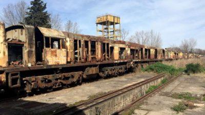 Mechita, la localidad que podría desaparecer con la venta de su taller ferroviario