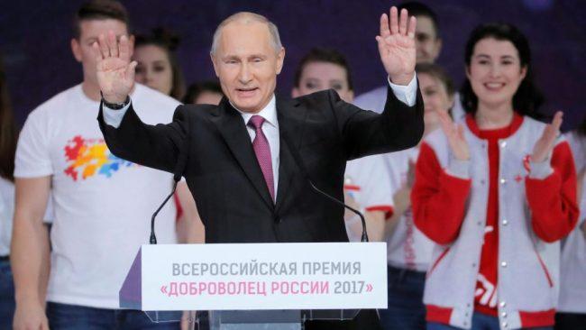 Putin va por su cuarto mandato en Rusia