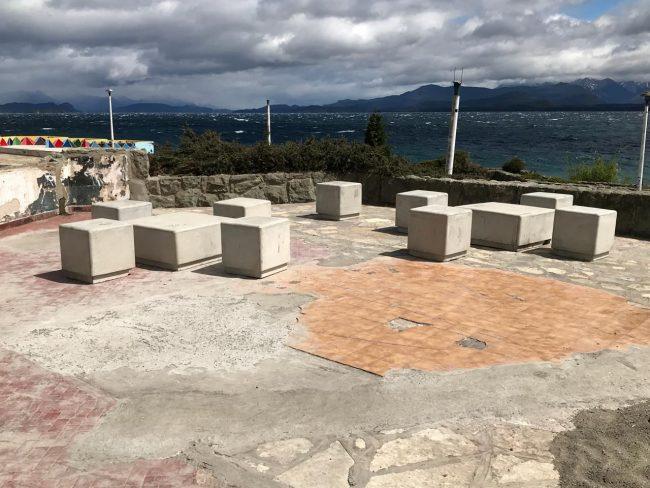 Avanzan las mejoras en la costanera de Bariloche con fondos de la ecotasa
