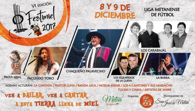 8 y 9 de diciembre Festi Miel en San José de Metán