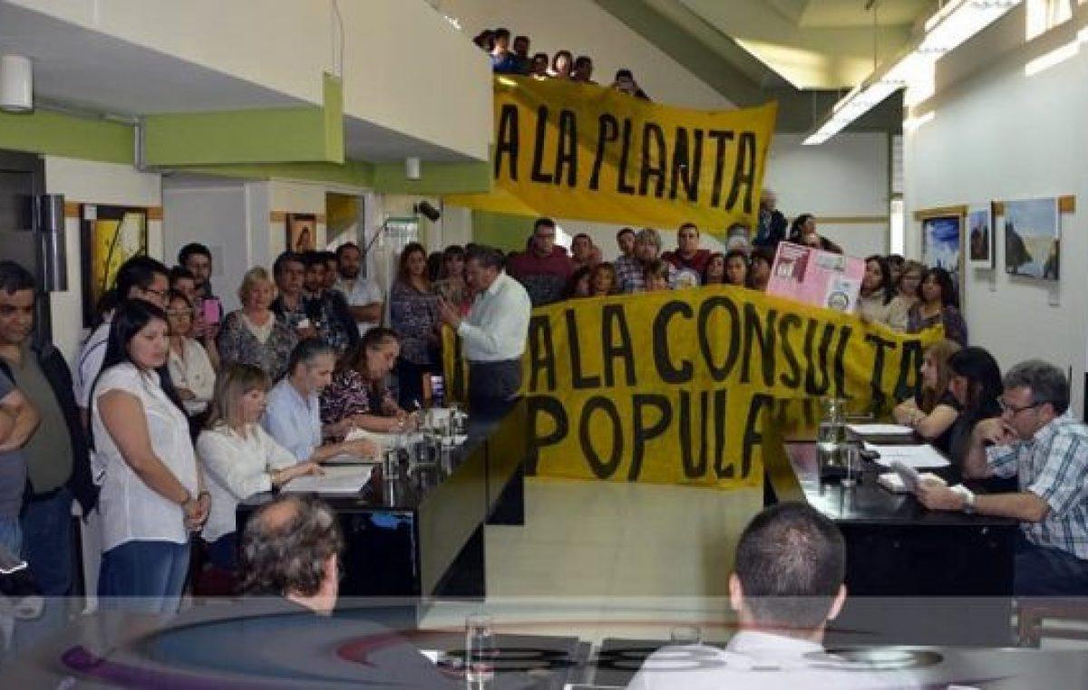 Sierra Grande votó a favor de radicar una usina nuclear