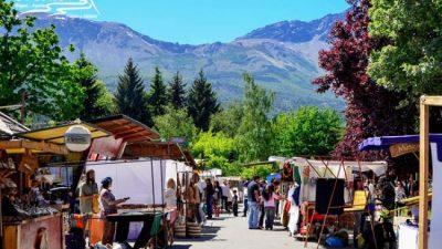 500 familias viven de la feria artesanal de El Bolsón