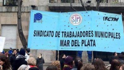 Municipales de Mar del Plata harán medidas de fuerza si se producen nuevos retrasos en el pago de salarios