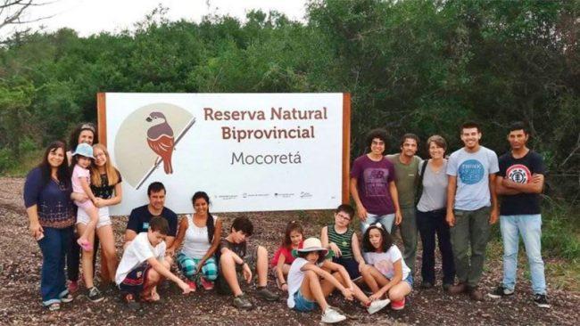 Inauguraron la primera Reserva Biprovincial del país