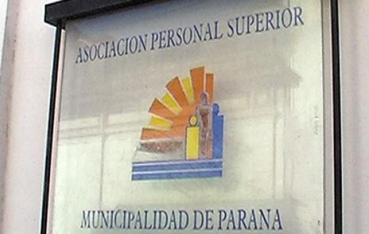 El sindicato municipal APS le pide al intendente de Paraná que convoque a paritarias