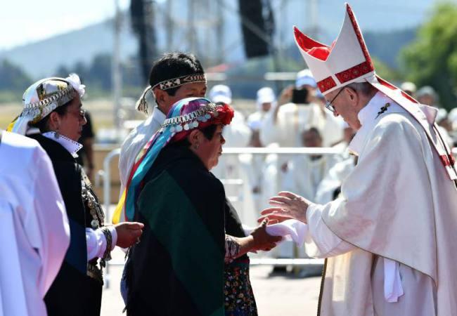 El Papa pidió escuchar al pueblo mapuche