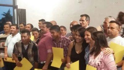 Vera: El gobierno local pasó a planta a 20 contratados