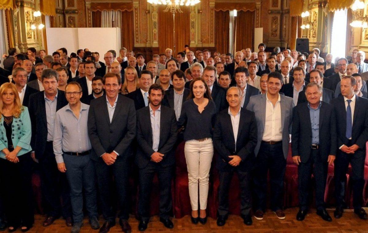 Ganadores y perdedores: así repartirá Vidal la coparticipación a los 135 municipios bonaerenses