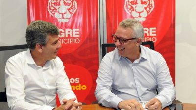 Los intendentes peronistas de Tigre y Hurlingham apuestan a la unidad en temas de gestión municipal