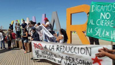 Pinamar: municipales y opositores a Yeza marcharon para denunciar recortes en Salud