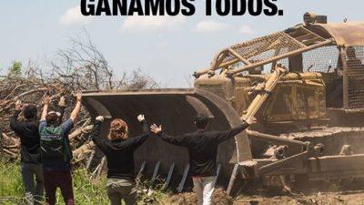 Salta: frenan el salvaje desmonte y tala de Urtubey y el primo de Marcos Peña