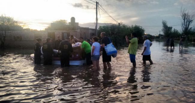 Al menos 50 mil afectados por el temporal en Chaco