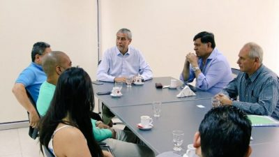 El Intendente de Avellaneda se reunió con representantes de municipios latinoamericanos