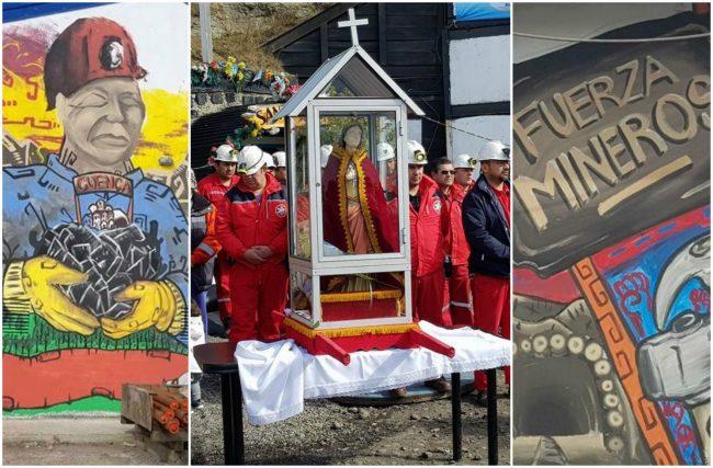 Río Turbio: los mineros esperan la reunión con la empresa entre misas y gendarmes